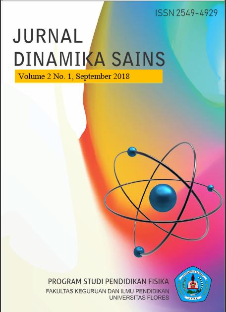 View Vol. 2 No. 1 (2018): Jurnal Dinamika Sains