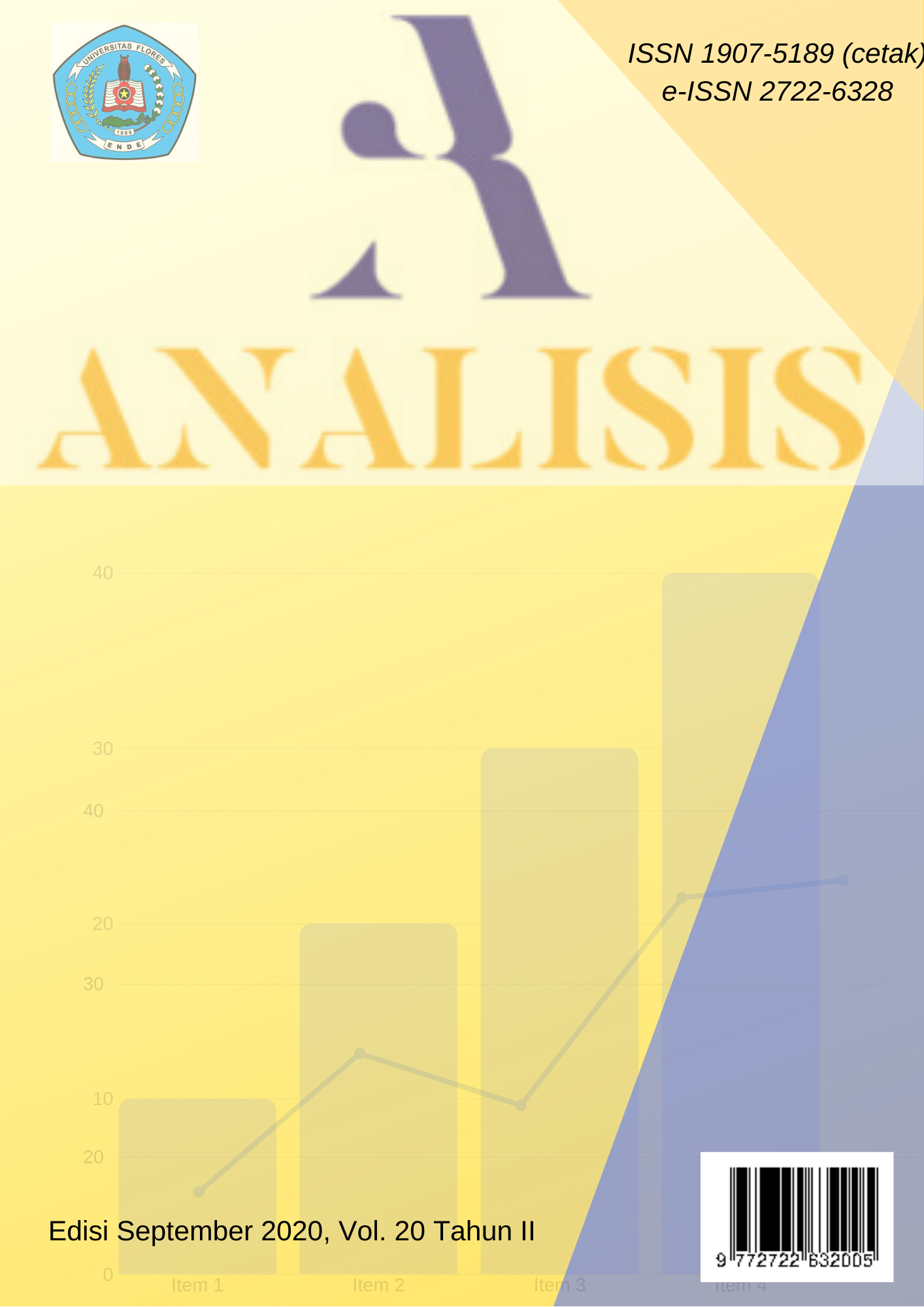 View Vol. 20 No. II (2020): ANALISIS VOL. 20 TAHUN II EDISI SEPTEMBER 2020