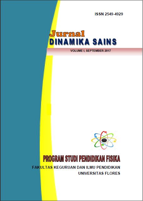 View Vol. 1 No. 1 (2017): Jurnal Dinamika Sains