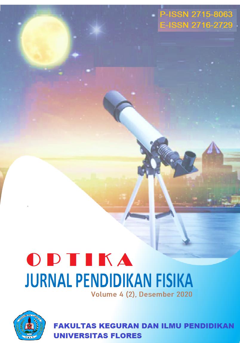 View Vol. 4 No. 2 (2020): OPTIKA